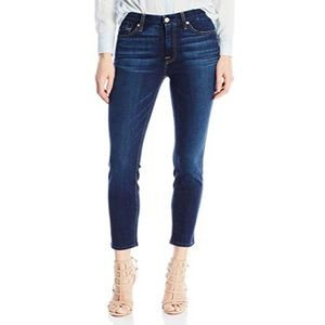 7 For All Mankind | Kimmie Crop Size 27